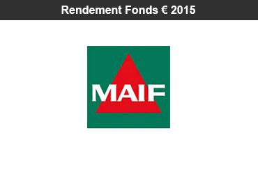 Assurance-vie : rendement 2015 des fonds euro des contrats MAIF